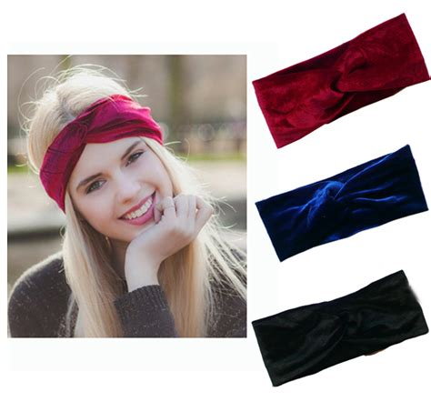 Bando Turban Bandana Headband 2in1 Twist velvet twist headband earmuffs earwarmers noble scrunchy twist hair band turban headband