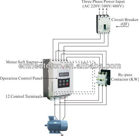 3 phase motor contactor wiring diagram motor free