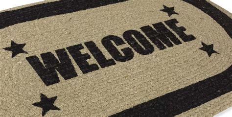 tappeto zerbino tappeto zerbino stuoia di cotone stata welcome