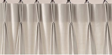 french pleat curtain 3 fold french pleat drapery rh