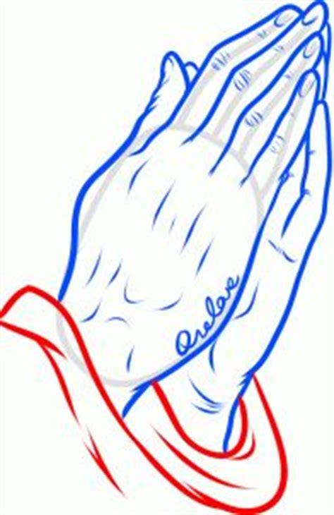 how to draw praying hands tattoo step 9 how to draw