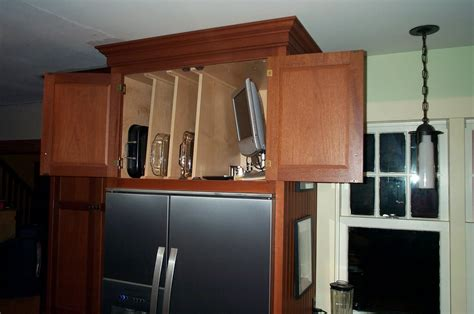 Over The Refrigerator Cabinet | in my hummel opinion cabinets over the refrigerator