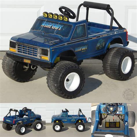 power wheels bigfoot monster truck nostalgia pic thread off topic random misc posts