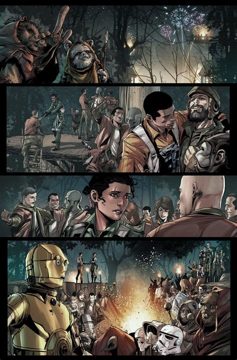 Wars Vol 4 A Shattered Graphic Novel Buruan Ambil comics relief marvel releases images from wars shattered empire nerdist