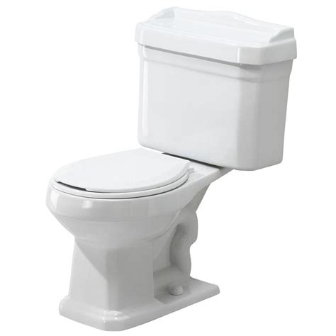 toilet combo home foremost series 1930 2 piece 1 6 gpf single flush round