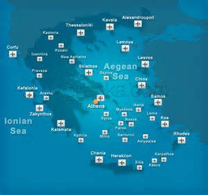 airports in map airports in greece and the islands greeka