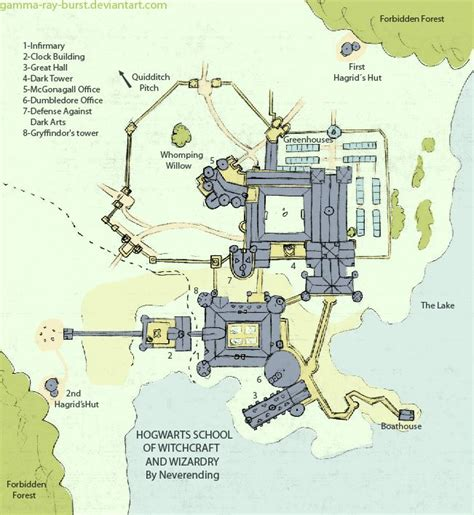 hogwarts plan from by gamma burst on deviantart