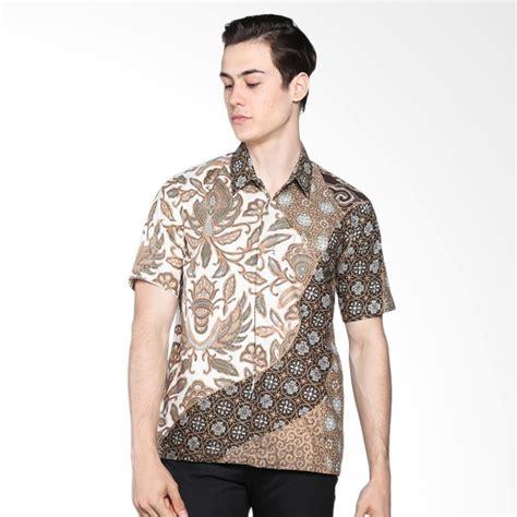 Kemeja Batik Fashion Comb Warna jual batik rengganis warna alam kemeja pria coklat