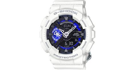 Bracelet White Series Temporary g shock s analog digital s series white bracelet 49x46mm gmas110cw7a3 in white lyst