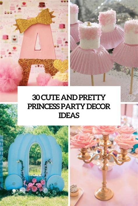cute  pretty princess party decor ideas shelterness