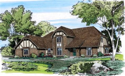 tudor house elevations house plan 10551 at familyhomeplans