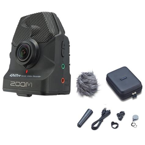 Zoom H5n Handy Recorder With Accessory Pack zoom q2n handy recorder with q2n accessory pack