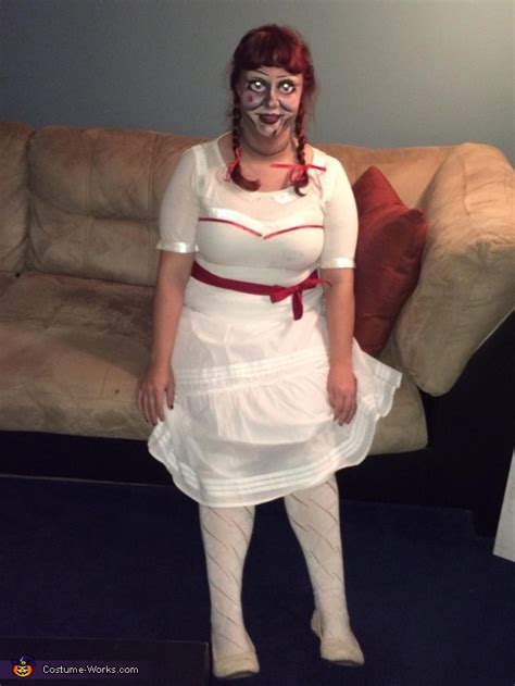real annabelle costume