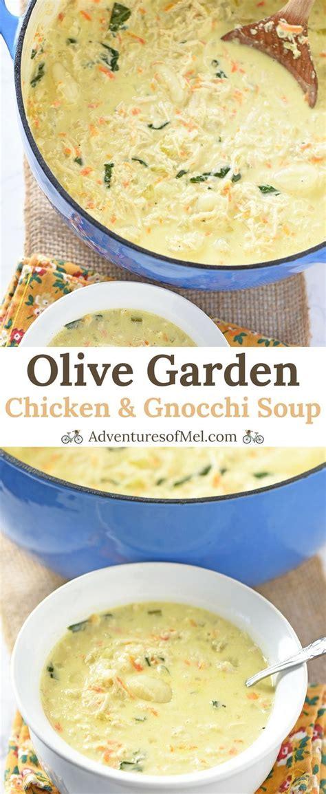 olive garden 7 principles best 25 chicken gnocchi soup ideas on gnocchi soup olive garden gnocchi soup and