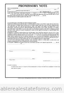Free Blank Printable Real Estate Promissory Note Word Simple Agreement For Future Equity Template