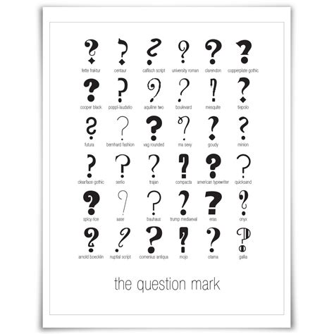 tattoo questions esl 36 question marks fontsunday ideas to tattoo