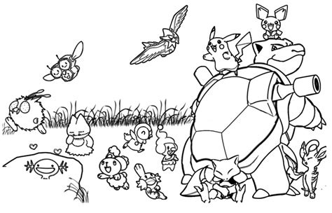 pokemon coloring pages starter pokemon all pokemon starters coloring pages to print coloring pages