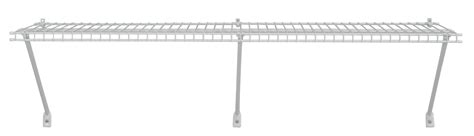 Closetmaid 3 Foot Wire Utility Shelf Closetmaid Utility Shelf Kit 4ft White Ebay