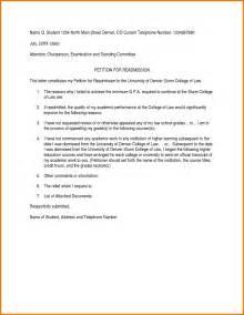readmission letter format readmission letter sle best letter sle