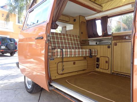 volkswagen westfalia cer interior 1980 vw vanagon westfalia paint interior no rust ca