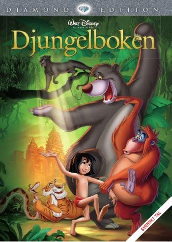 se filmer jungle disney klassiker 19 djungelboken dvd discshop se