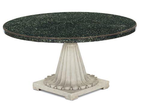 circolare 216 d italia piano circolare in marmo serpentino con bordura perlinata