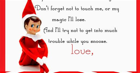 elf on the shelf blank printable letter elf on the shelf letter free printable yummy mummy