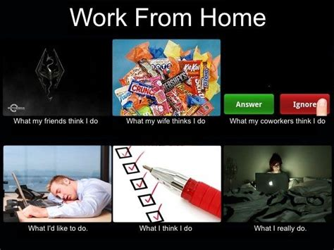 work from home what think i do meme tracking
