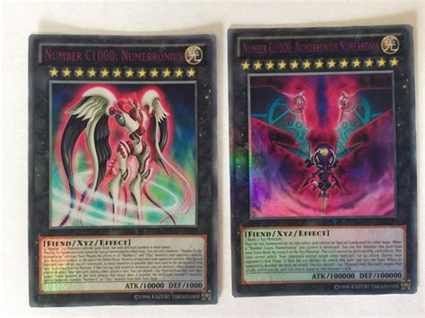 yugioh anime only card lot of 2 number c1000 numerronius yugioh anime only card lot of 2 number c1000 numerronius