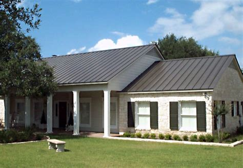 Custom Homes Greenville Sc types of metal roofs for houses house plans