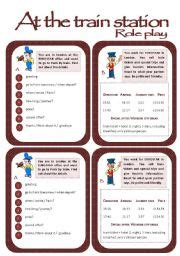 printable bus tickets for role play english teaching worksheets at the train station