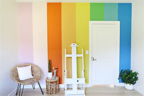 look at pics and help suggest wall color hardwood diy rainbow accent wall a beautiful mess
