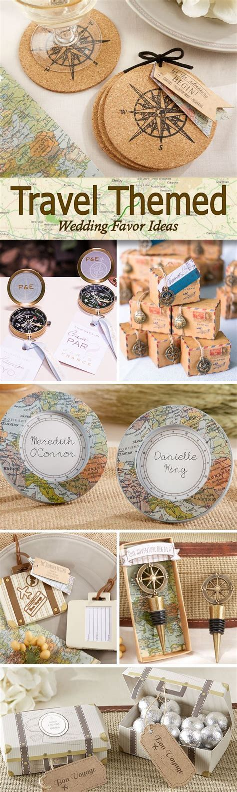 Having a wanderlust or travel inspired wedding? Check out
