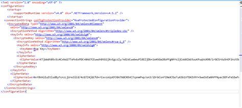 tutorial web config ms crm tutorials encrypt or decrypt connection string in net