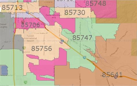 printable zip code map of tucson az home buyers find your next house here