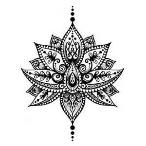 Lotus Flower Mandala Meaning Best 25 Lotus Mandala Ideas On