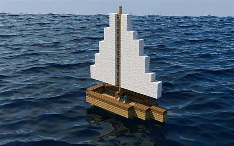 minecraft boat construction minecraft barco en el mar fondos de pantalla gratis