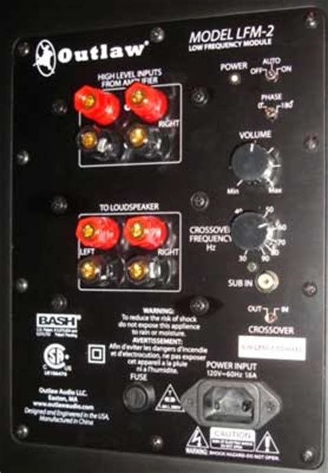 outlaw audio bls bookshelfmonitor speakers  lfm