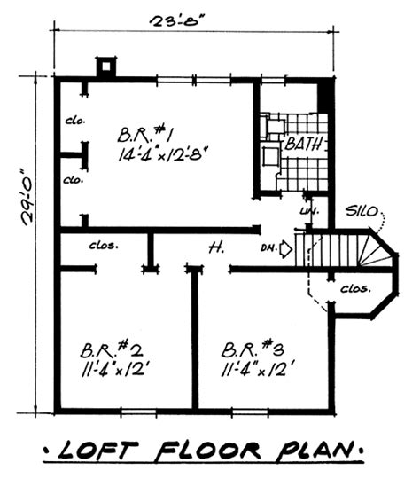 economy home plans plan 5125 vacation