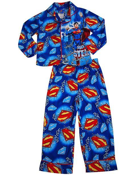 White Superman Big Size Shortpants Pajamas superman big boys sleeve superman pajamas blue