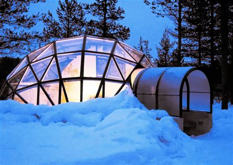 northern lights iceland igloo these heated glass igloos in the arctic are amazing