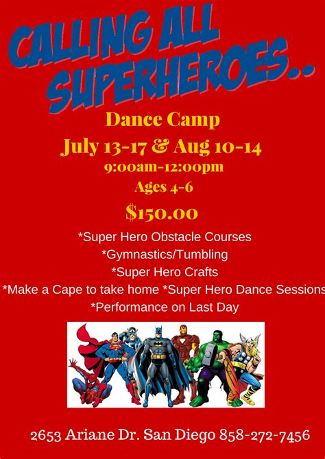 Home Design Styles 2015 super hero princess acro and peter pan camps summer