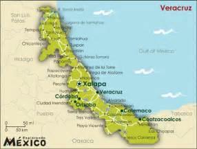 Veracruz Mexico Map by Xalapa Mexico Map