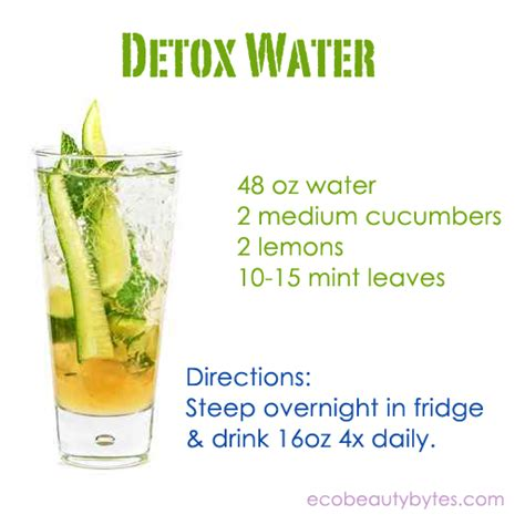 How To Make Detox Water With Lemon And Cucumber by In A Strange Land October 2013