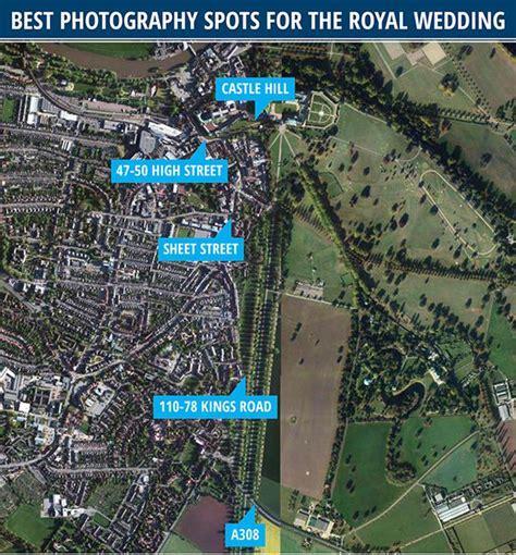 Royal wedding 2018: Google Map of Windsor for best