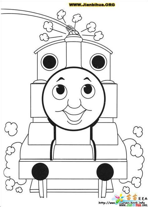 thomas birthday coloring pages 托马斯与小火车简笔画39张 第16张