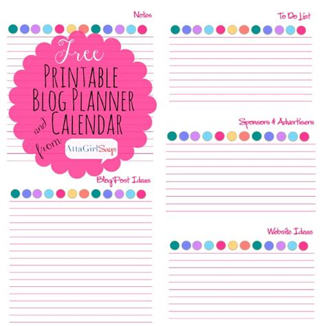 long term to do list printable 2015 free printable blog planner and calendar atta girl says