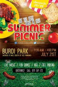 picnic flyer template summer picnic psd free flyer template best of flyers