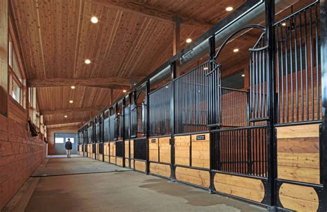 stall de artful equine housing or just a barn k o architects