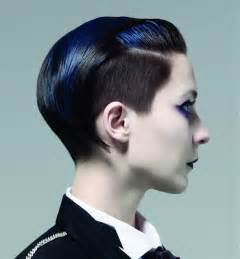 womens haircut with sides a short black hairstyle from the the dandies collection by